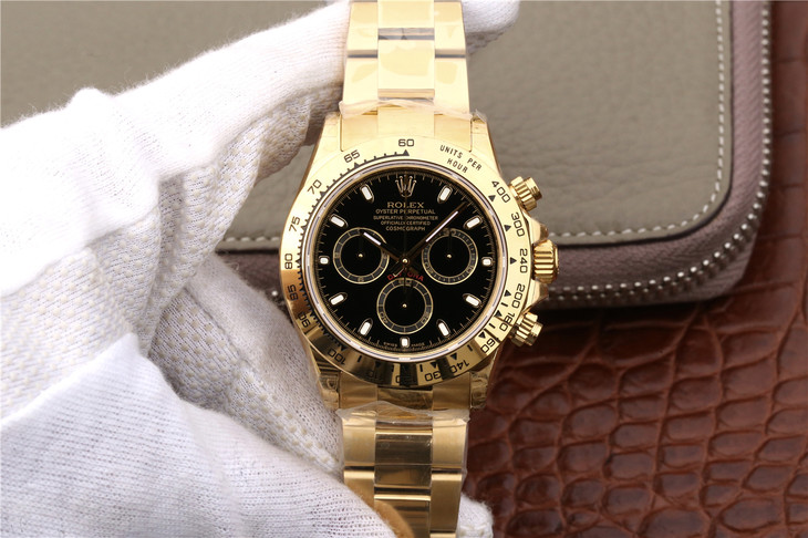 Replica Rolex Daytona Gold