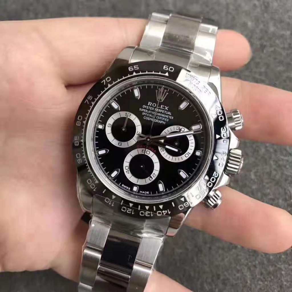 Replica Rolex Daytona Black Ceramic