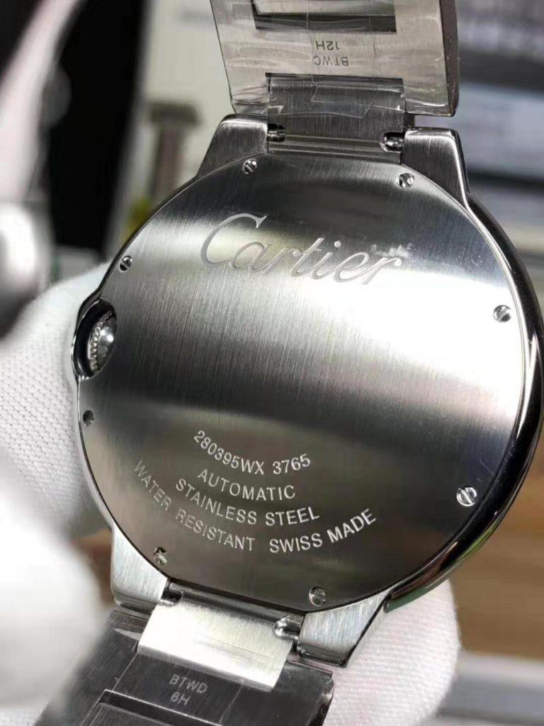 Replica Cartier Ballon Bleu Steel Watch black
