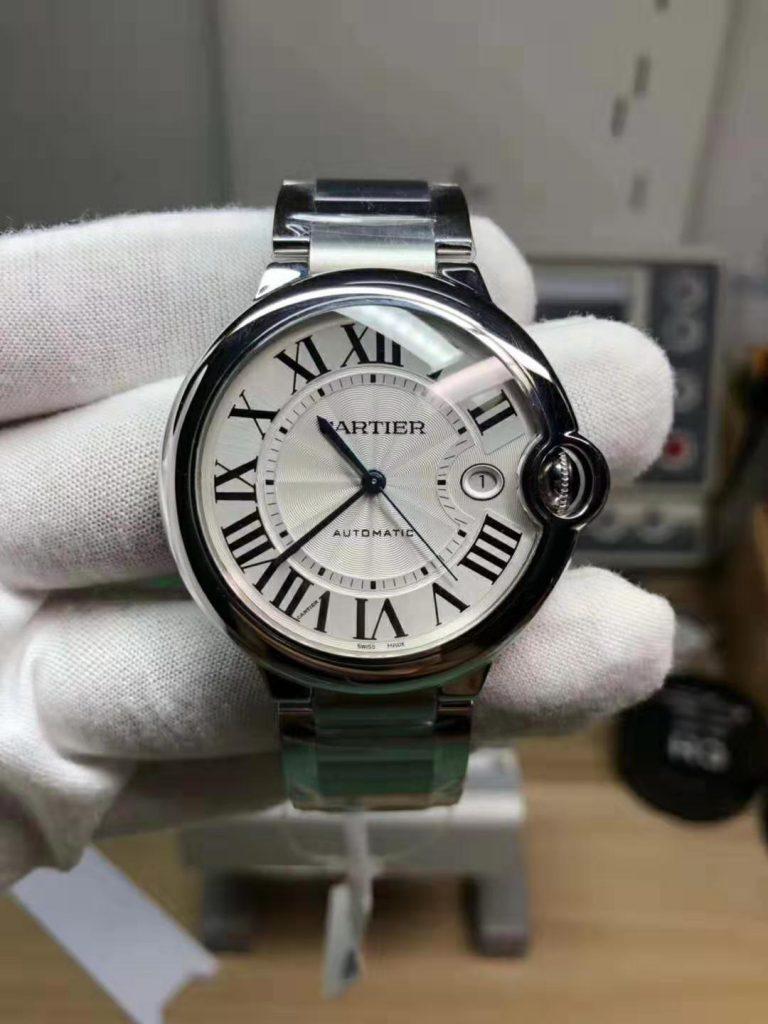 Replica Cartier Ballon Bleu Steel Watch