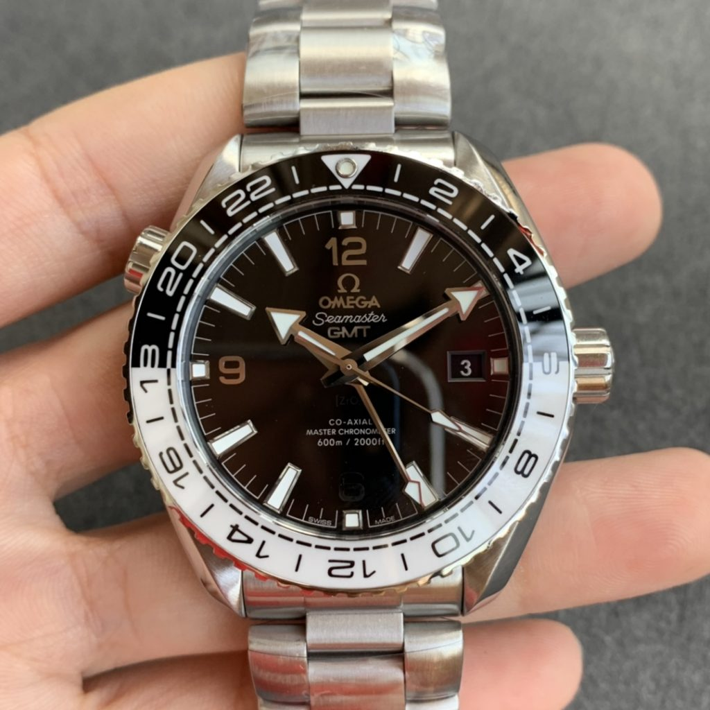 Replica Omega Planet Ocean Black White