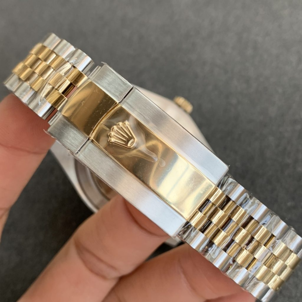 Replica Rolex Datejust Two Tone Diamond Markers